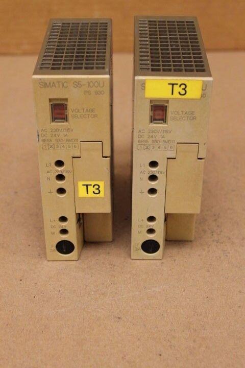 SIEMENS 6ES5 930-8MD11 MEMORY CARD MODULE