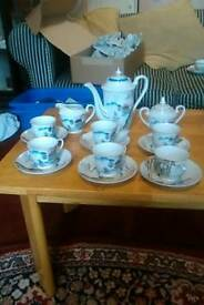 Bone China Chinese tea set
