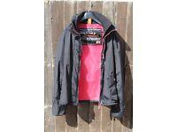 Black SuperDry Jacket MT3083, size M, excellent condition