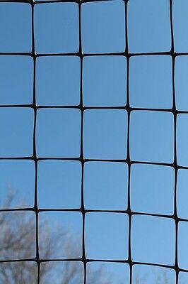 Tenax C Flex P Deer Fence 7.5' x 164' 1A120229, Carbon Black, Polypropylene