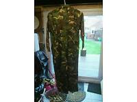Child's camoflage overall