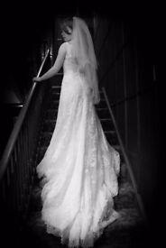 maggie sottero designer wedding dress