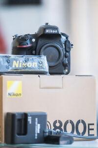 Nikon D800E DSLR Bundle – D800E + 50mm f/1.4D Lens & Accessories