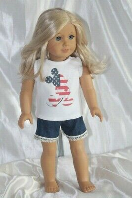 Dress Outfit fits 18 inch American Girl Doll Clothes Lot Mickey