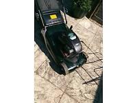 Hayter spirit 41 push petrol Lawnmower with rear roller