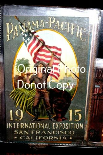 #D2507,Seldom Seen Pan Pacific Expo 1915 Expo Poster Cd