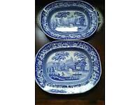 Improv'd Wild Rose RCFA serving plates