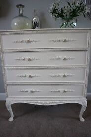 Stunning French Style Chest of Drawers - Vintage, Decorative, Shabby Chic
