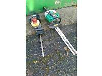 2 petrol hedge cutters / no longer needed