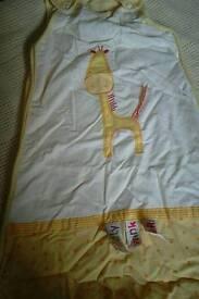 lollipop lane summer sleeping bag 0-6