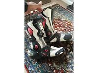 Sidi Vertigo Corsa motorcycle boots size 12