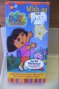 New Dora the Explorer - Wish on a Star (VHS, 2001) Nick Jr Dvd Lot Xenotransplantation Primates