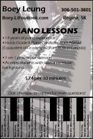 Qualitative piano lesson with reasonable price!