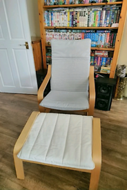 Poang chair plus foot rest / not for free