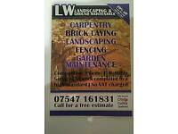 Lw landscapes and garden maintenance