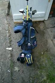 Childs golf set