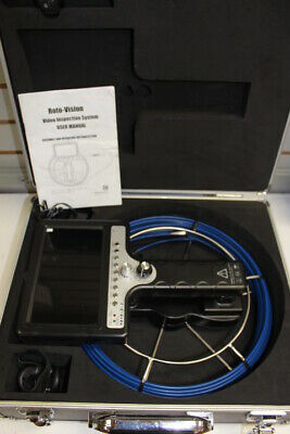 Rotobrush Roto-vision Duct Video Inspection System. Display Unit. Free Shippin