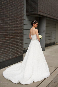 Dennis Basso for Kleinfeld Wedding Dress Ball Gown Fits Size 2-6