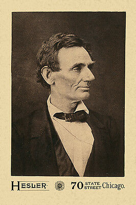 ABRAHAM LINCOLN 1860 Pre-Presidential Photo A++ Cabinet Card CDV for sale  Shipping to Canada