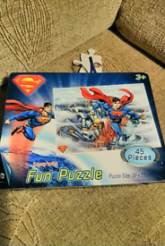 Superman puzzl