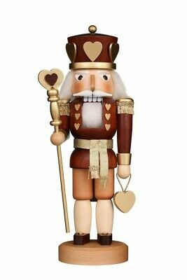 Christian Ulbricht Natural (Christian Ulbricht Natural Wood King of Hearts German Nutcracker - New for 2019 )