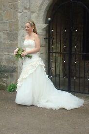 Artelier Diagonal Spanish Designer Wedding Dress