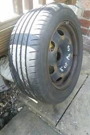 Citroen Xsara Picasso C4 spare wheel & tyre