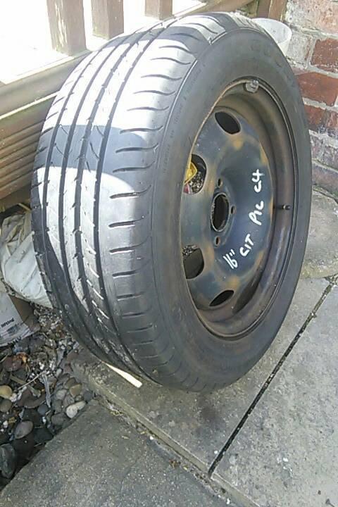 Citroen Xsara Picasso C4 spare wheel & tyre | in Sheffield ...