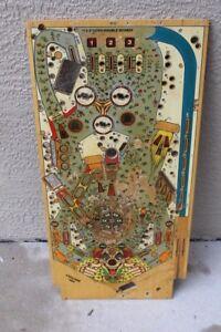 William's CYCLONE PINBALL MACHINE PLAYFIELD - USED