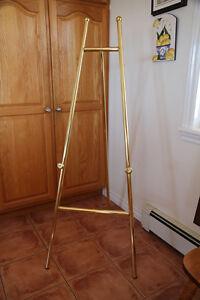 Brass Display Easel