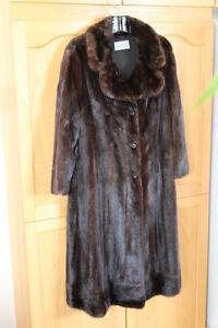 Vintage full length mink fur coat