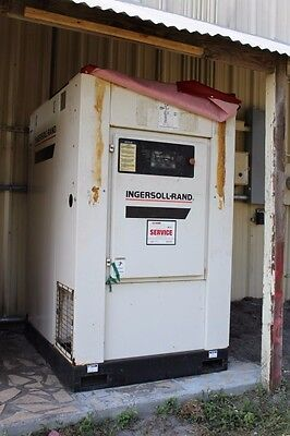 Ingersoll-rand Large Industrial Compressor Ssr-ep50se Good Condition Used