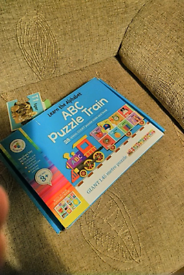 Abc puzzle train compleat no missing pieces