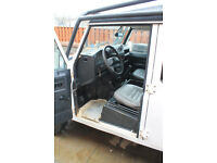 2012 (62-reg) LHD Land Rover Defender 110 SW manual 2.2L Diesel – left hand drive