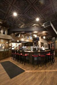 Decorative ceiling tiles - restaurant, bar, pub, retail, ofiice