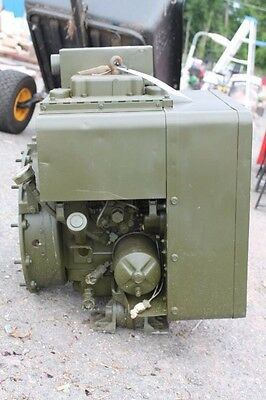 Onan 2 Cylinder 9 Hp Diesel Engine Model 100-1344 For Generator Militarysurplus