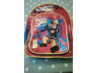 Fireman Sam backpack in good used condition