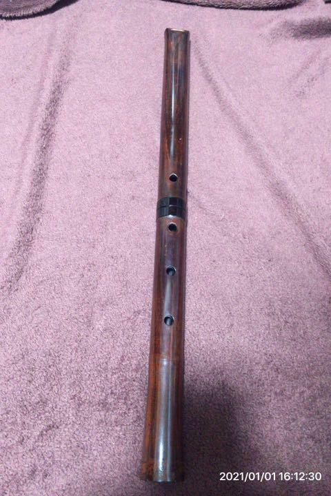 Shakuhachi Wooden Flute Woodwind Instrument Japanese Traditional 54.3cm S-59
