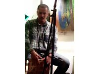 Cajon player available, looking for a band