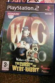 ps2 game wallace and gromit the curse of the were rabbit
