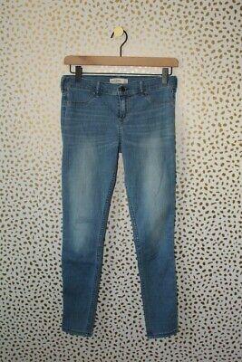 Abercrombie Kids Dark and Light Wash Skinny Jeans Size 16
