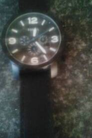 Fiossil watch real leather straps