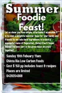 Summer Foodie Feast! Red Cliffs Mildura City Preview