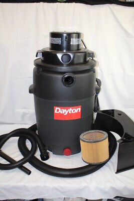 Nos New Dayton Single Stage Wetdry Vacuum Cleaner 6 Hp 25 Gallon No Motor