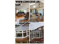 Tiled Conservatory Roof / Insulated Ceiling