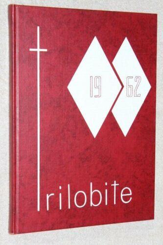 1962 Lebanon High School Yearbook Annual Lebanon Ohio OH - Trilobite