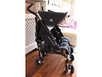 Maclaren Twin Techno pushchair / double buggy - immaculate condition, hardly used!!