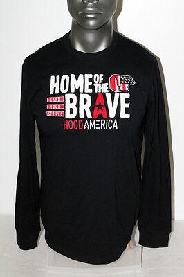 Hood America L/S DIGNITY T-SHIRT BLACK 1511T1578  ()