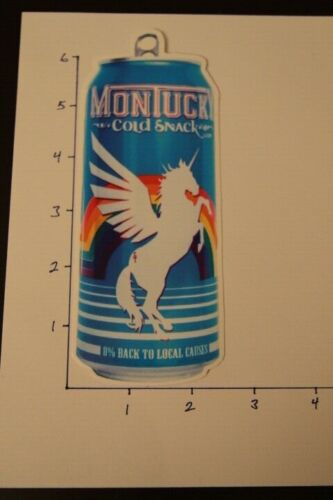 """Montucky Brewing Company """"Unicorn Rainbow Can"""" LARGE Logo Sticker...AWESOME!!!"""