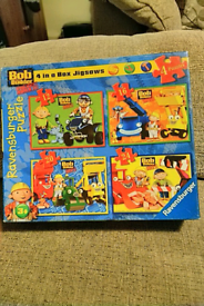 Bob the builder puzzle compleat no missing pieces